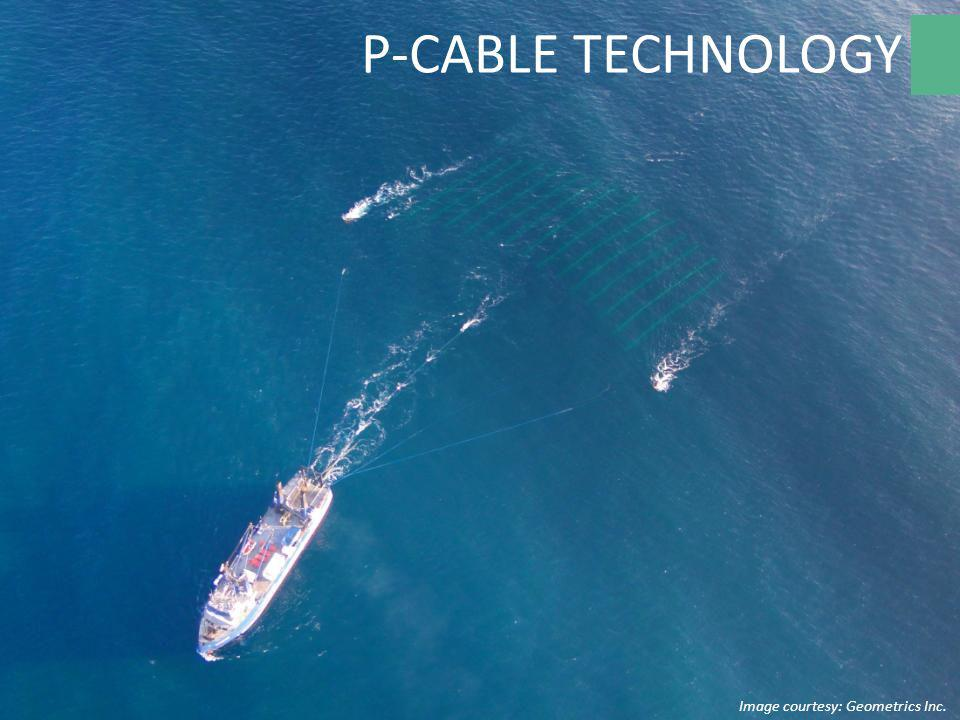 P-CABLE TECHNOLOGY Image courtesy: Geometrics Inc.