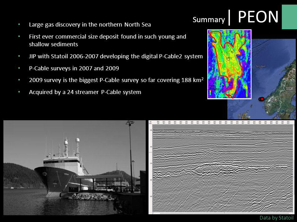 Summary| PEON Large gas discovery in the northern North Sea