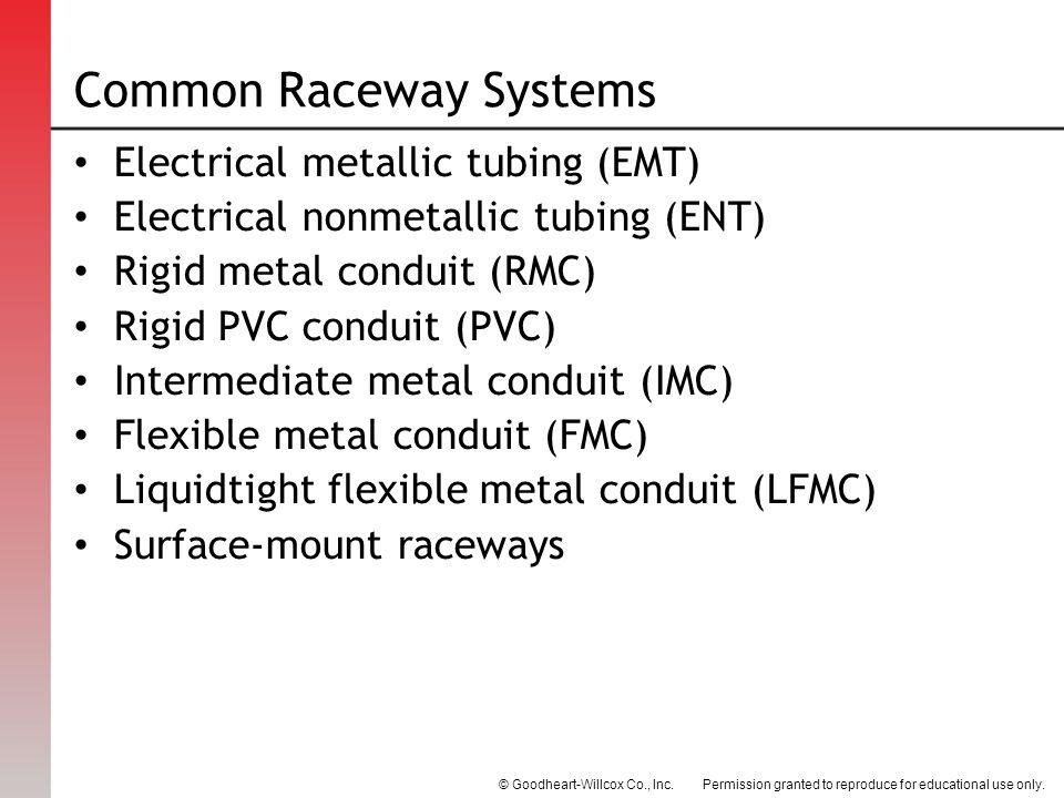 Common Raceway Systems