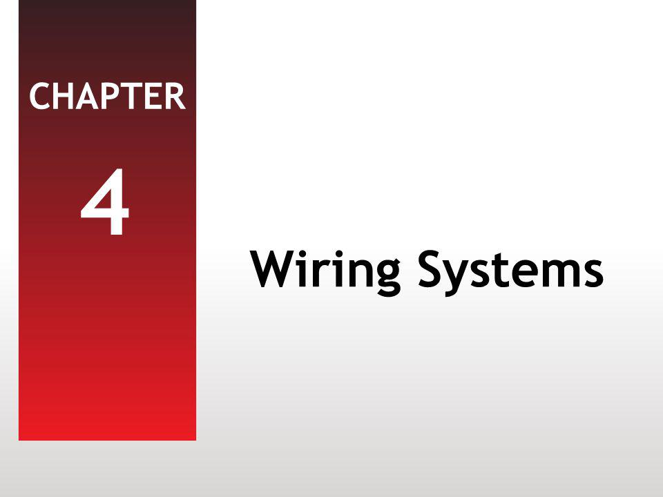 4 Wiring Systems