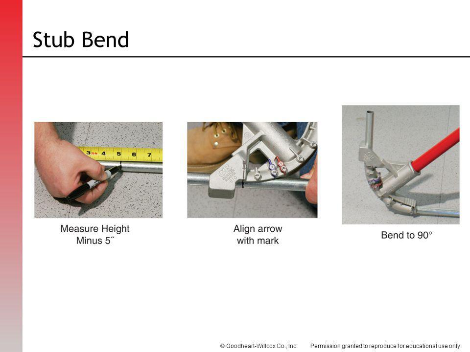 Stub Bend