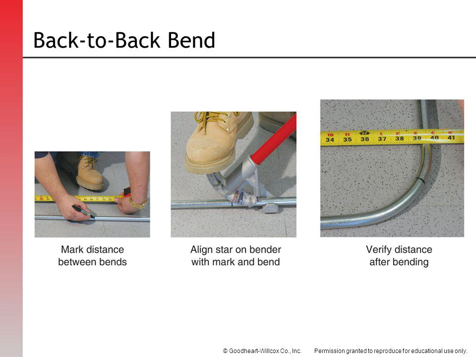 Back-to-Back Bend