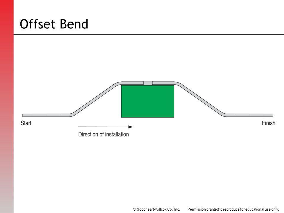 Offset Bend