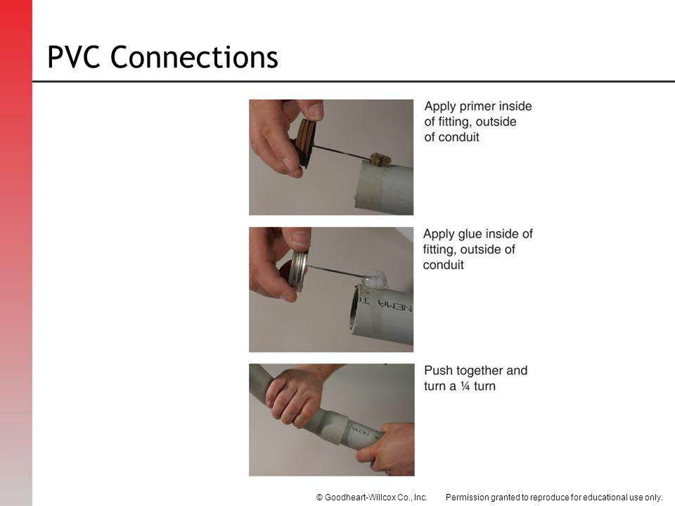 PVC Connections