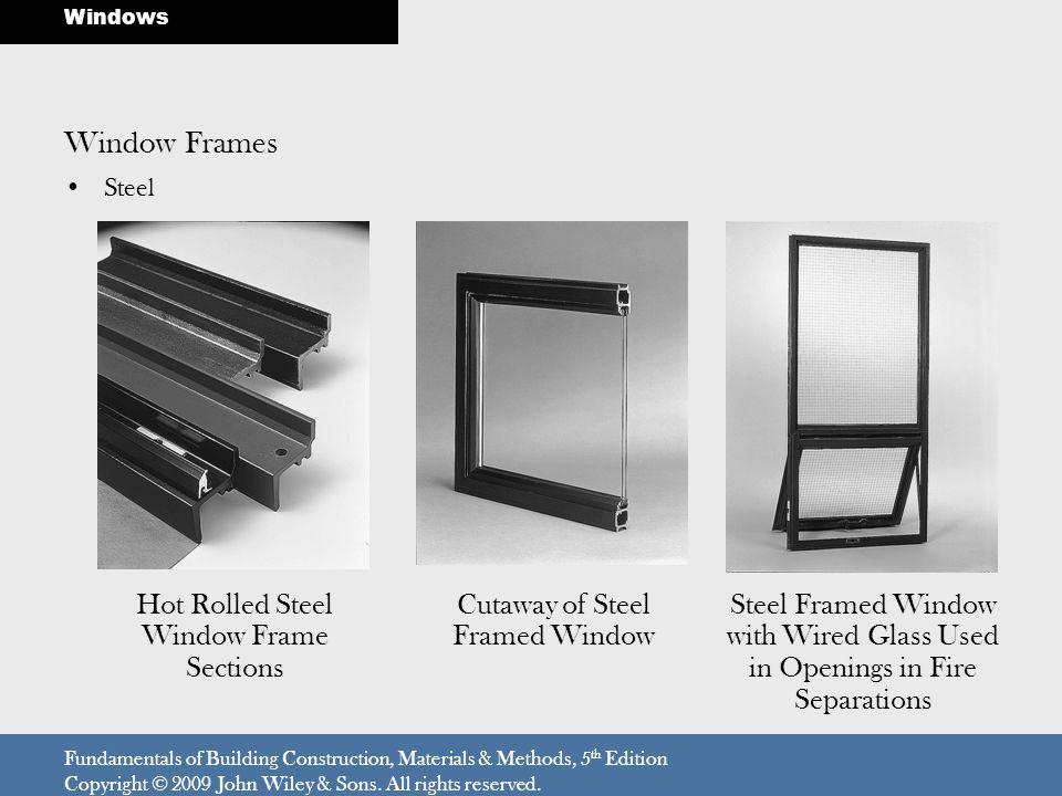 Window Frames Hot Rolled Steel Window Frame Sections