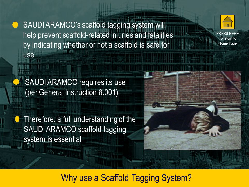 Why use a Scaffold Tagging System