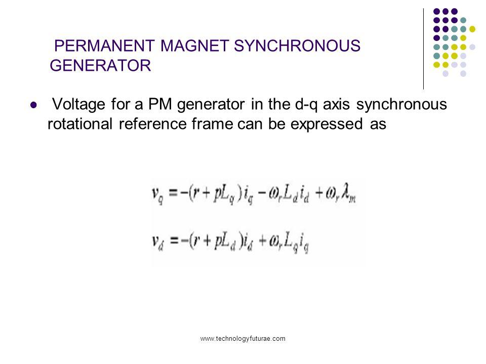 PERMANENT MAGNET SYNCHRONOUS GENERATOR