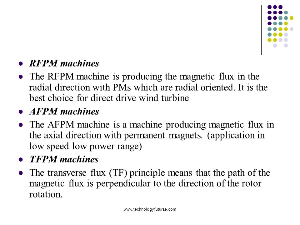 RFPM machines