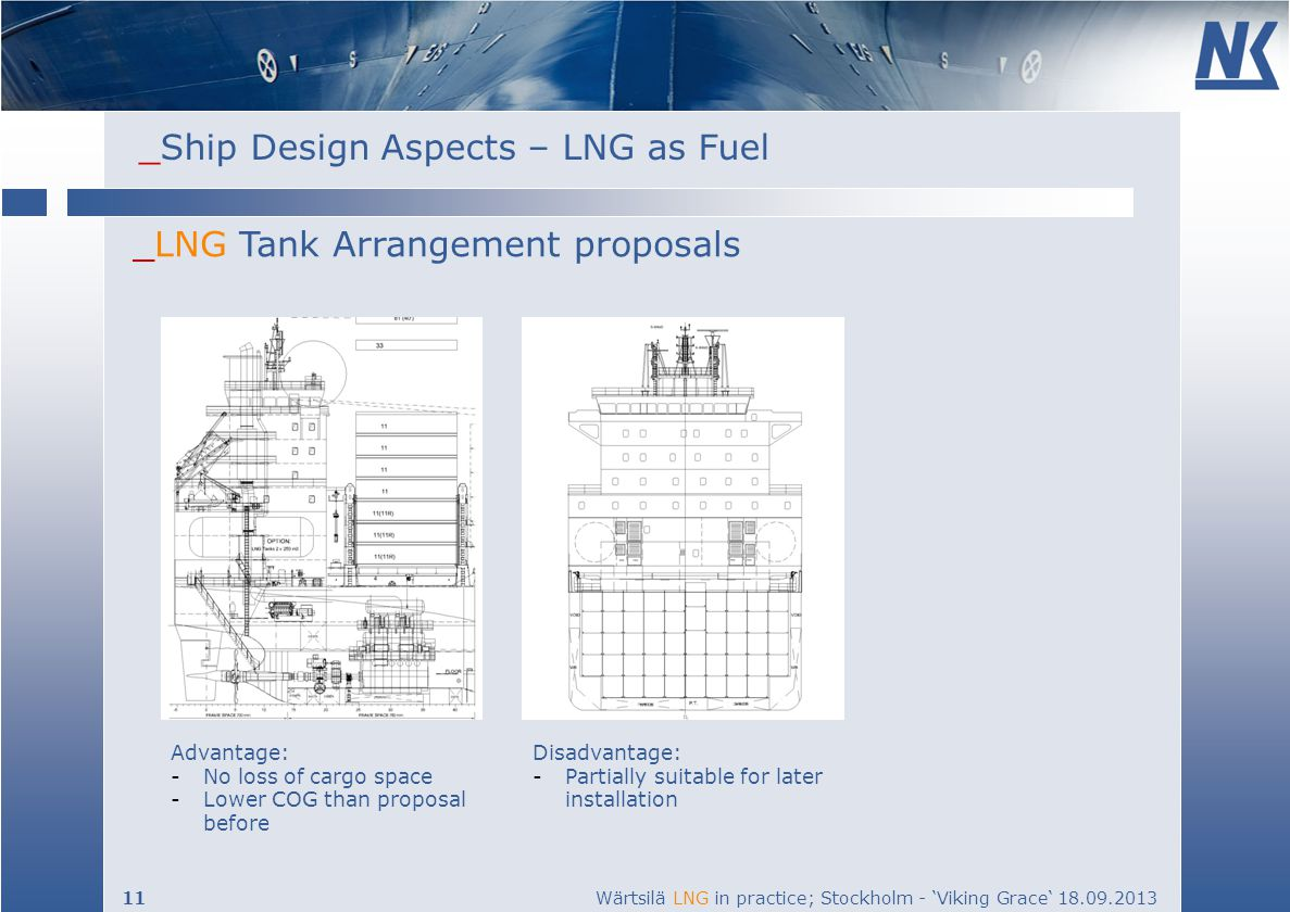 _LNG Tank Arrangement proposals