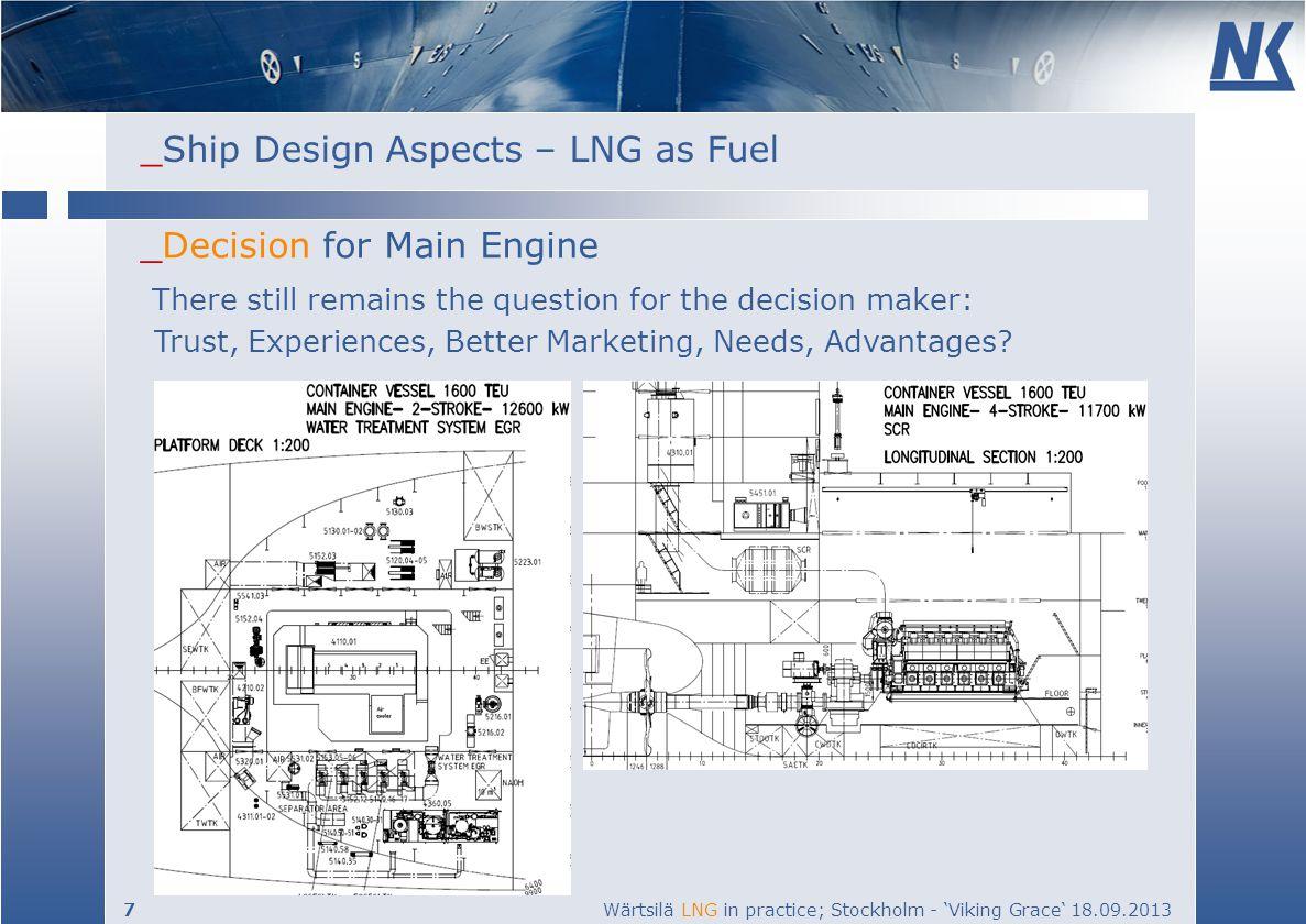 _Decision for Main Engine