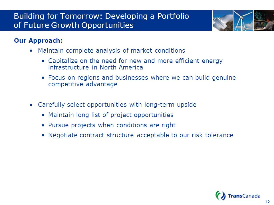 Building for Tomorrow: Developing a Portfolio of Future Growth Opportunities