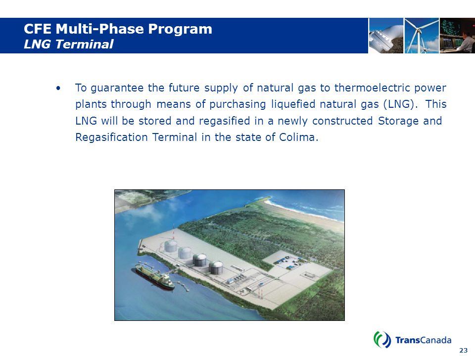 CFE Multi-Phase Program LNG Terminal