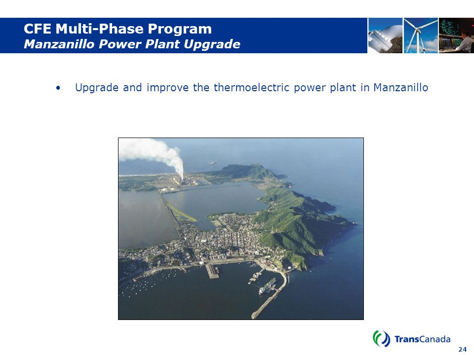 CFE Multi-Phase Program Manzanillo Power Plant Upgrade