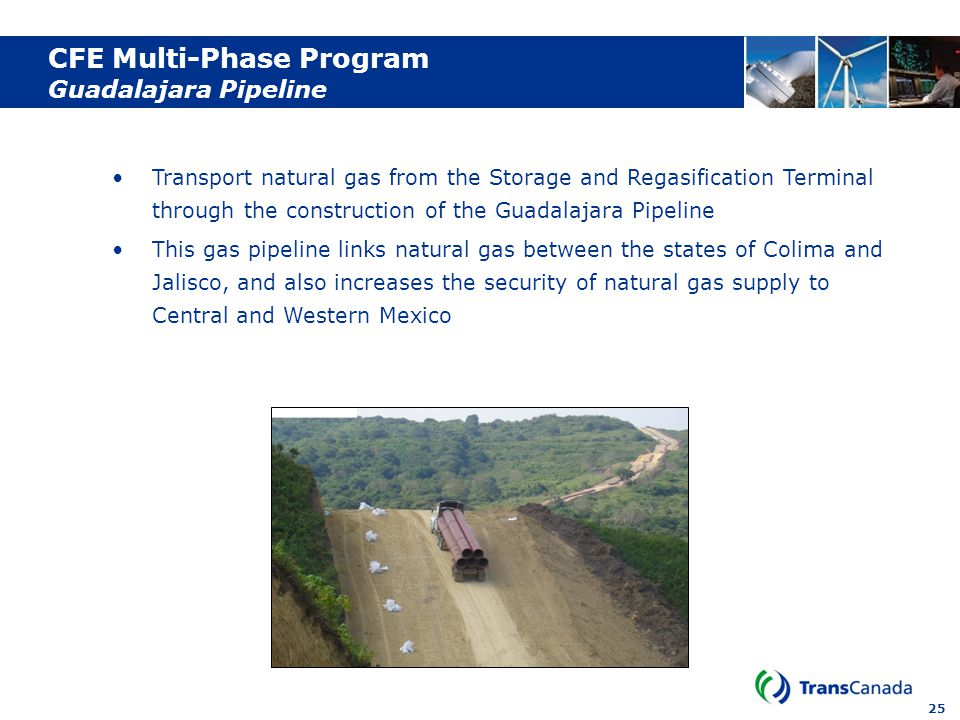 CFE Multi-Phase Program Guadalajara Pipeline
