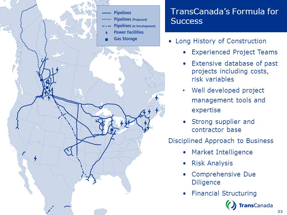 TransCanada's Formula for Success