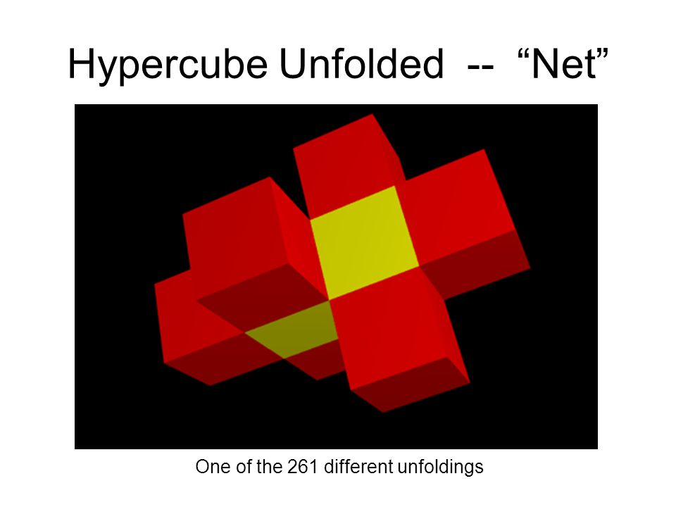 Hypercube Unfolded -- Net