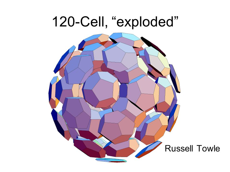 Florida 1999 120-Cell, exploded Russell Towle