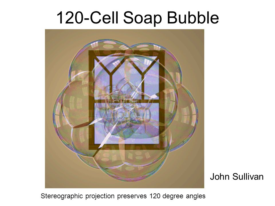 120-Cell Soap Bubble John Sullivan