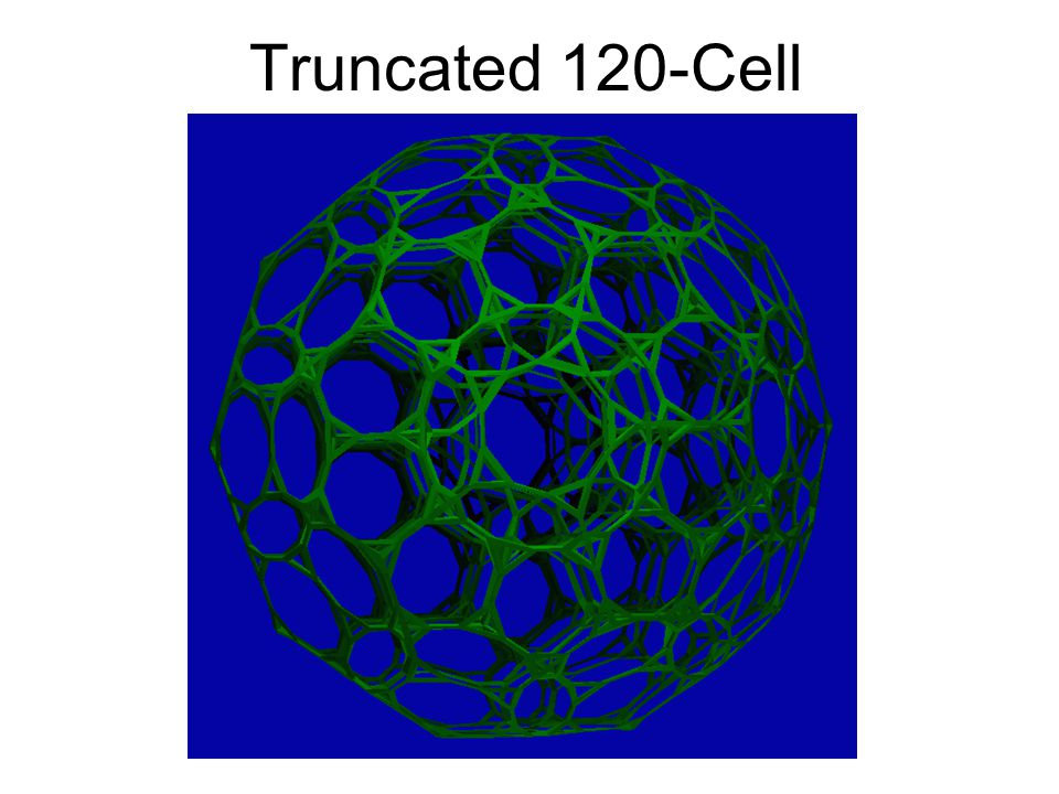 Truncated 120-Cell Florida 1999