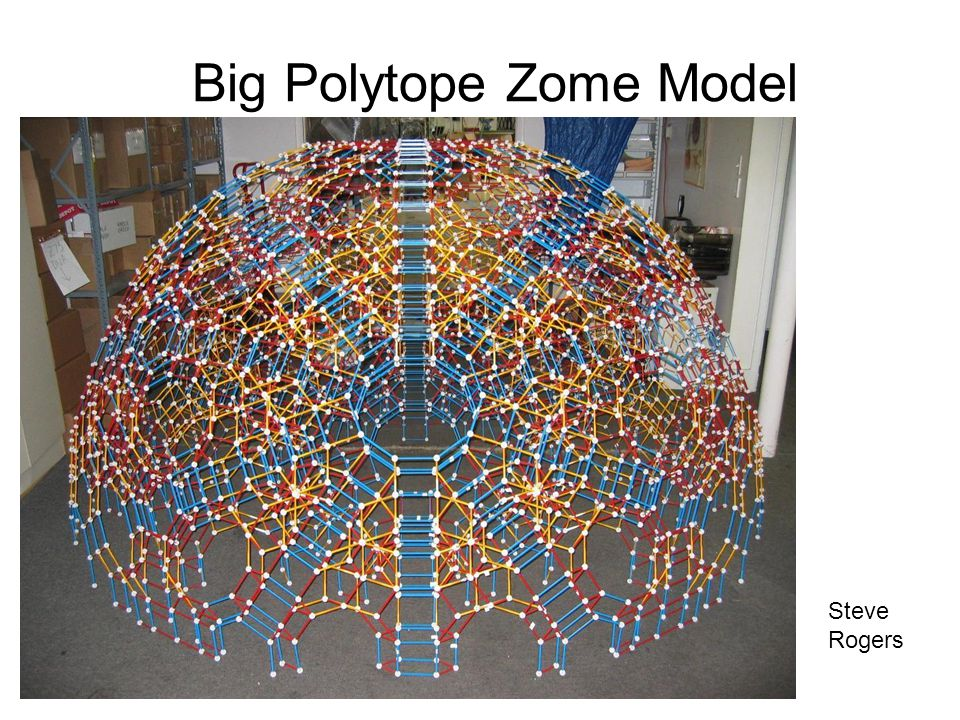 Big Polytope Zome Model