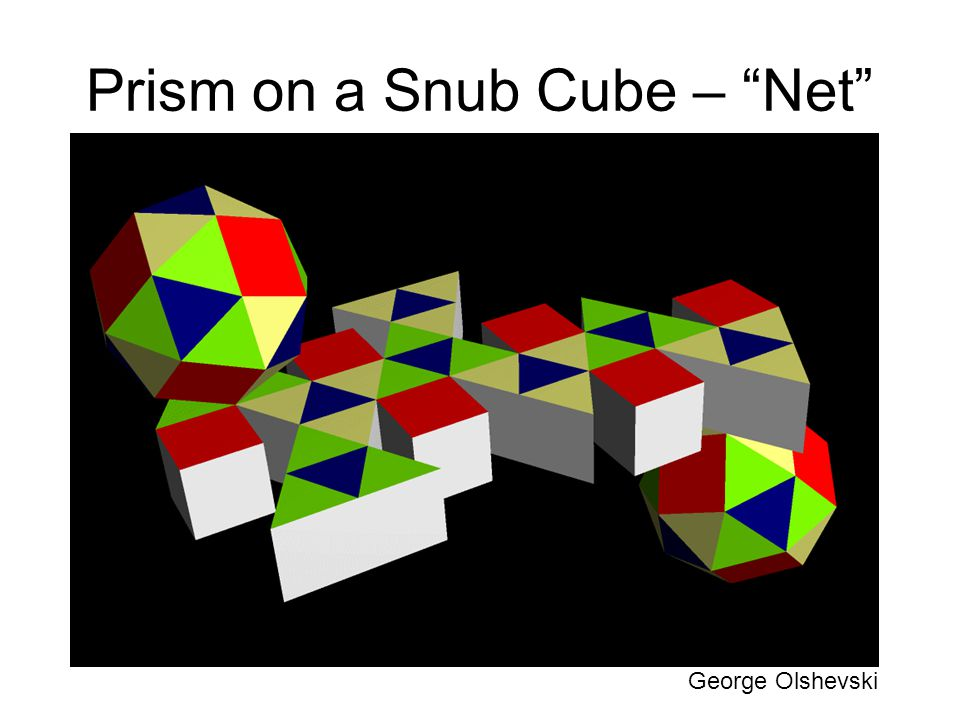 Prism on a Snub Cube – Net