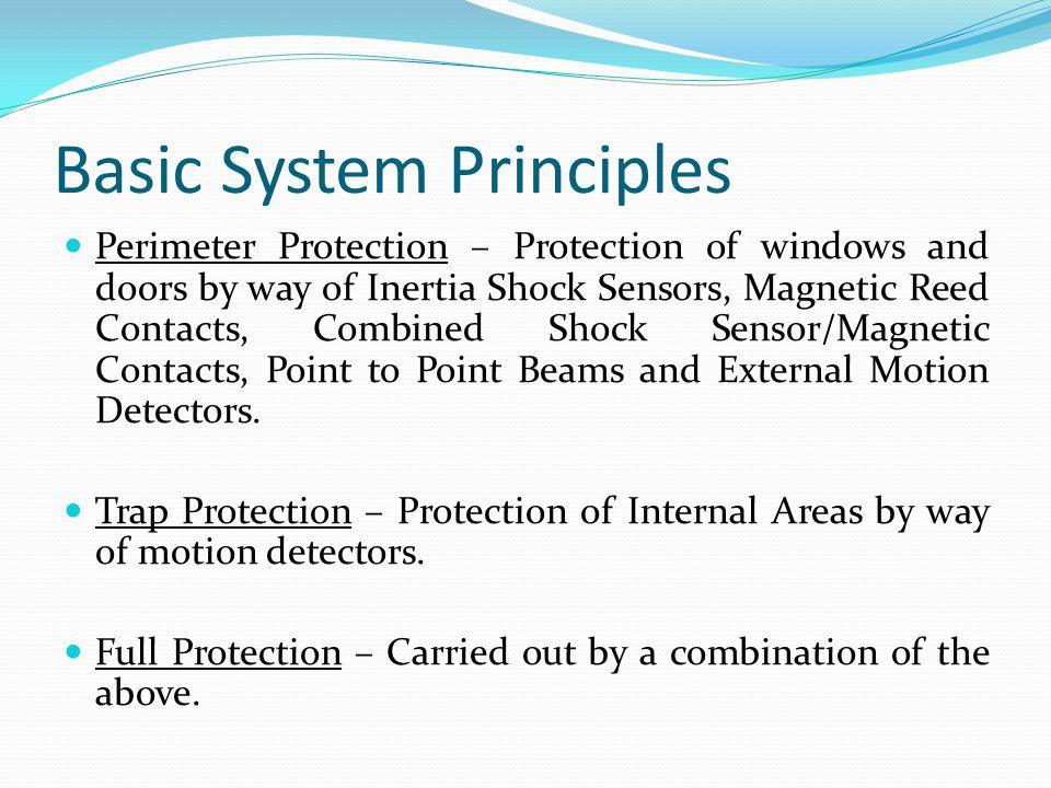 Basic System Principles