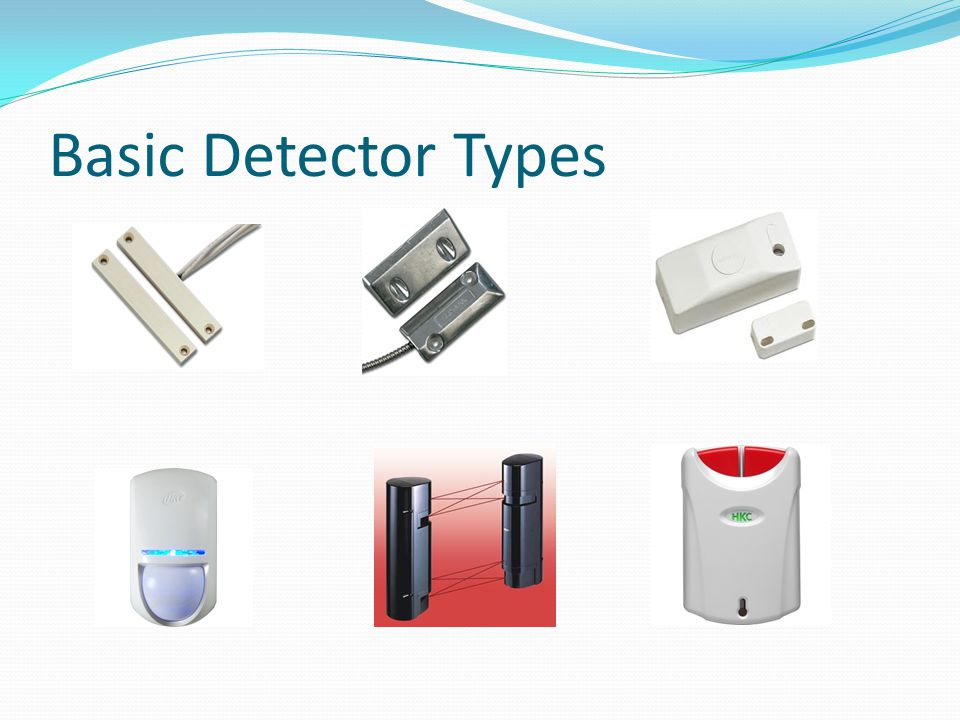 Basic Detector Types