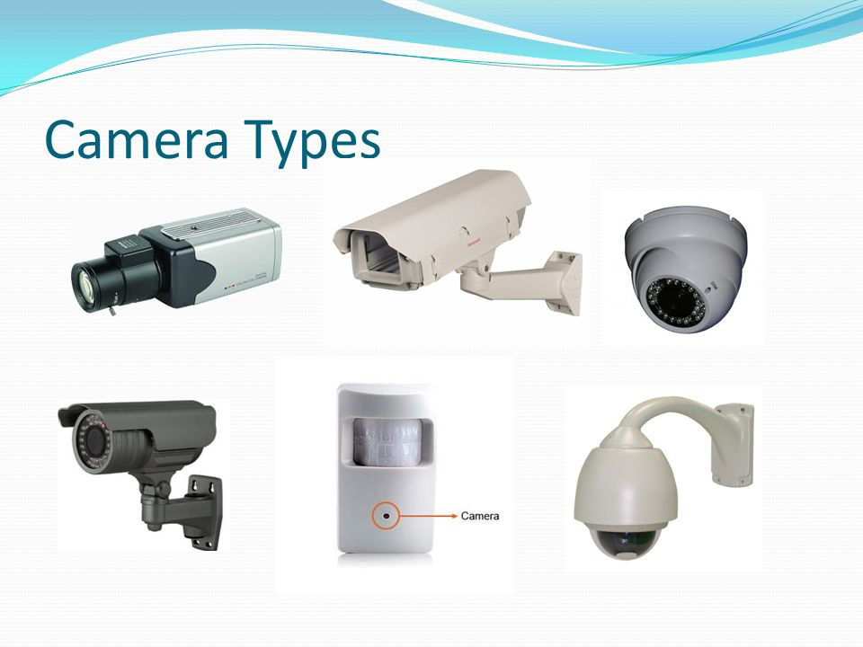 Camera Types Box Camera Camera Housing Dome Camera Bullet Camera