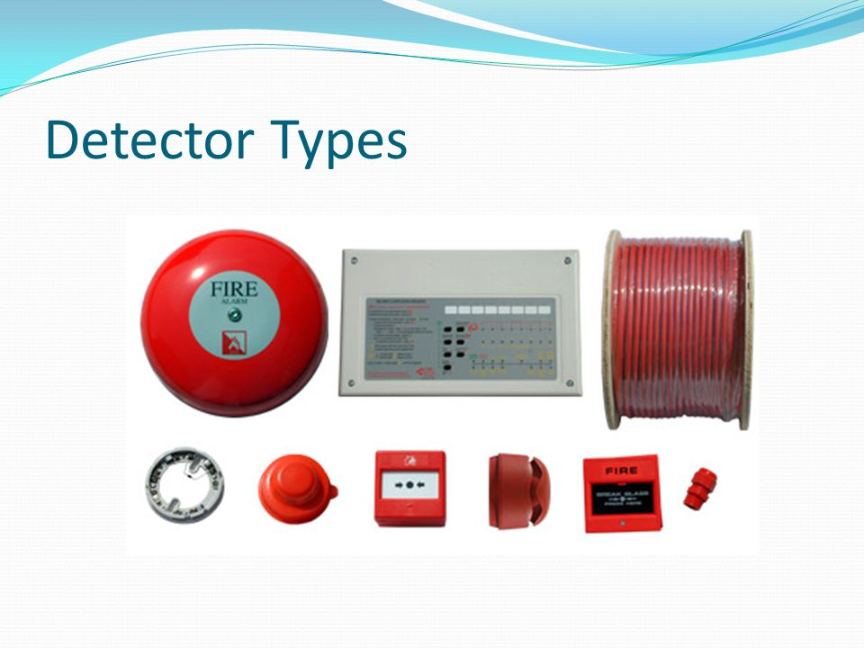 Detector Types Fire Bell Conventional Panel Firetuff Cable