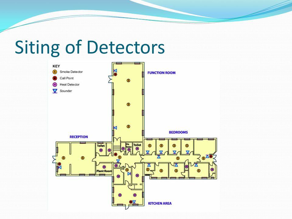 Siting of Detectors