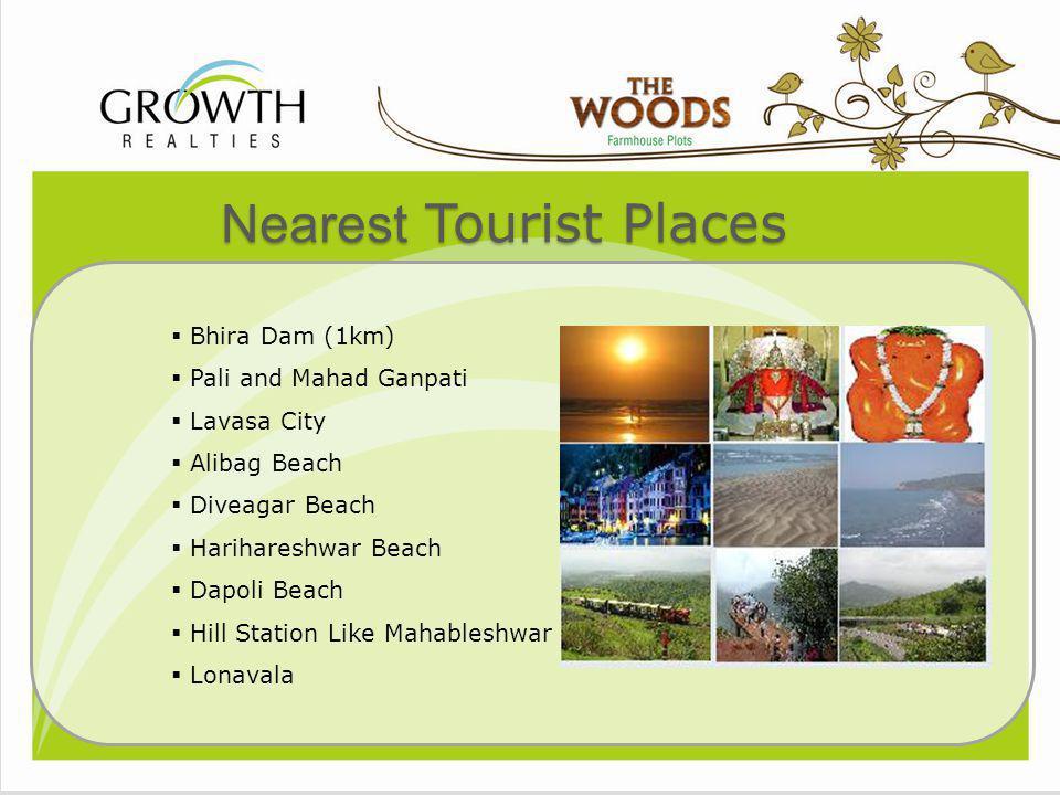 Nearest Tourist Places