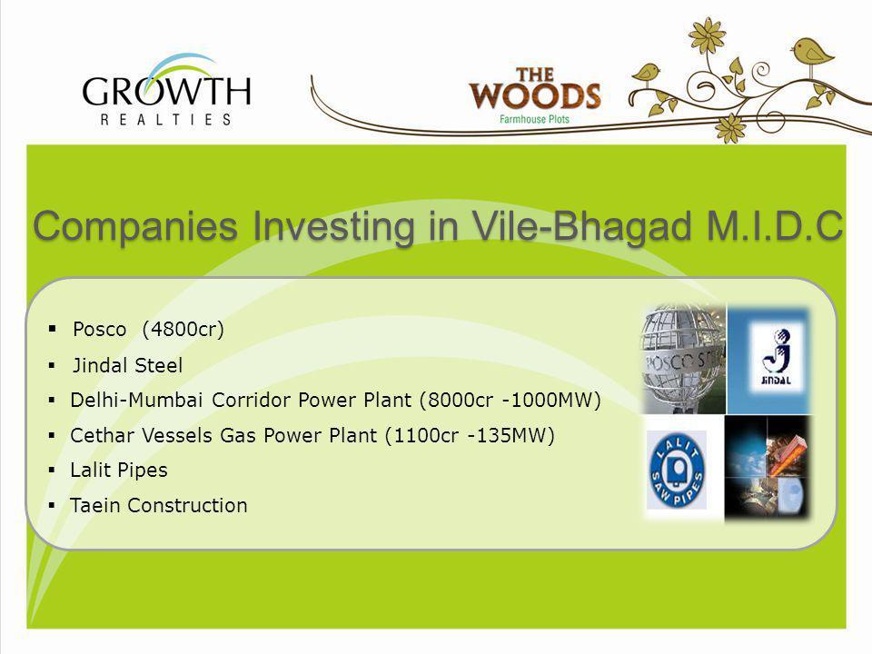Companies Investing in Vile-Bhagad M.I.D.C