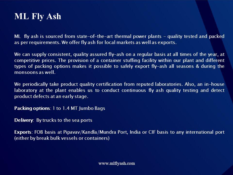 ML Fly Ash