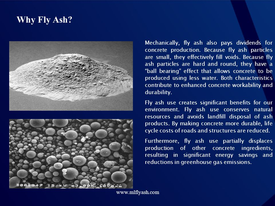 Why Fly Ash