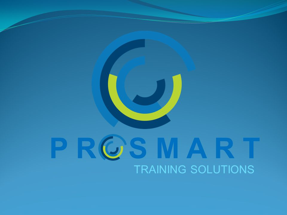 P R S M A R T TRAINING SOLUTIONS