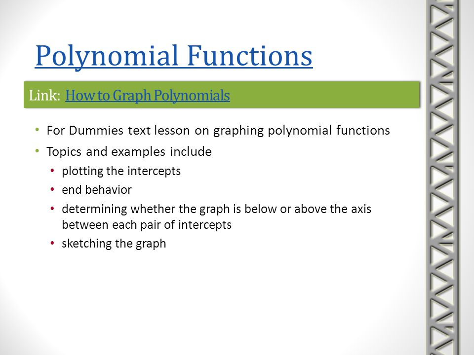 Link: How to Graph Polynomials