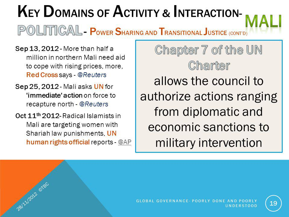 Chapter 7 of the UN Charter