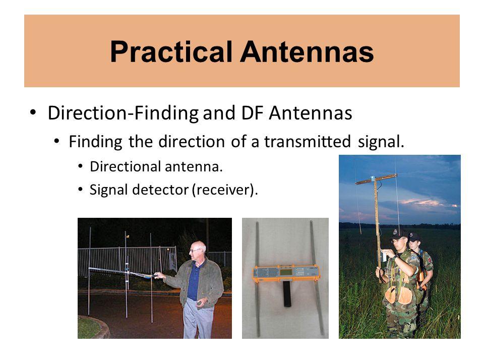 Practical Antennas Direction-Finding and DF Antennas