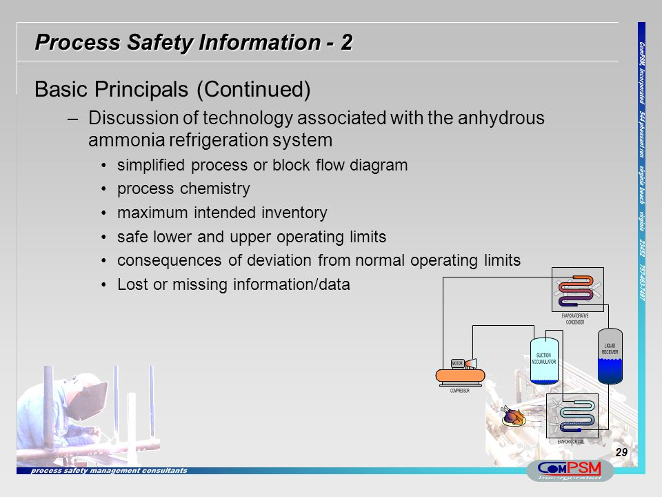 Process Safety Information - 2