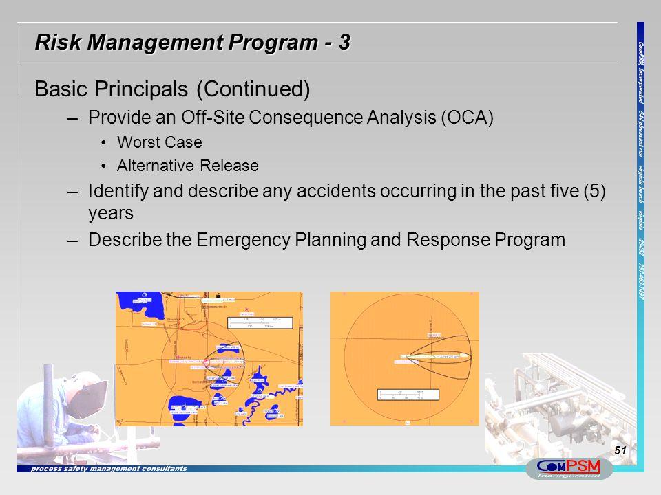 Risk Management Program - 3
