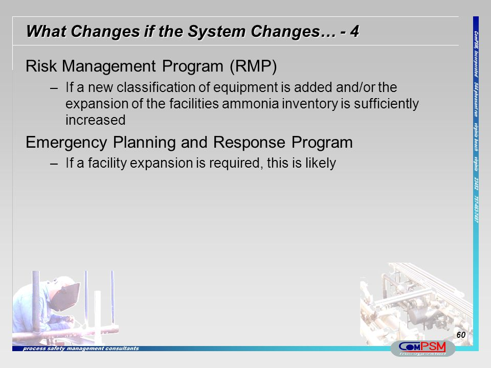 What Changes if the System Changes… - 4