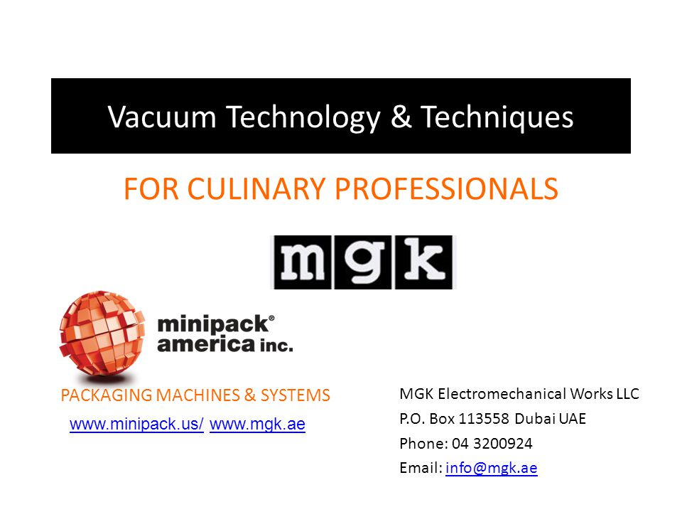 Vacuum Technology & Techniques