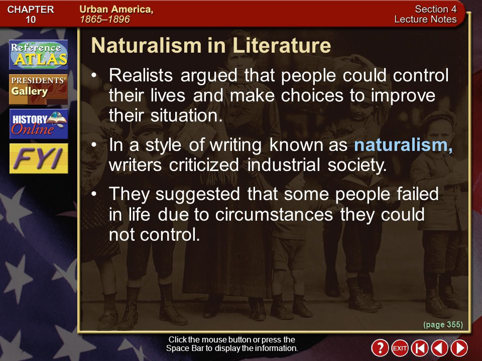 Naturalism in Literature
