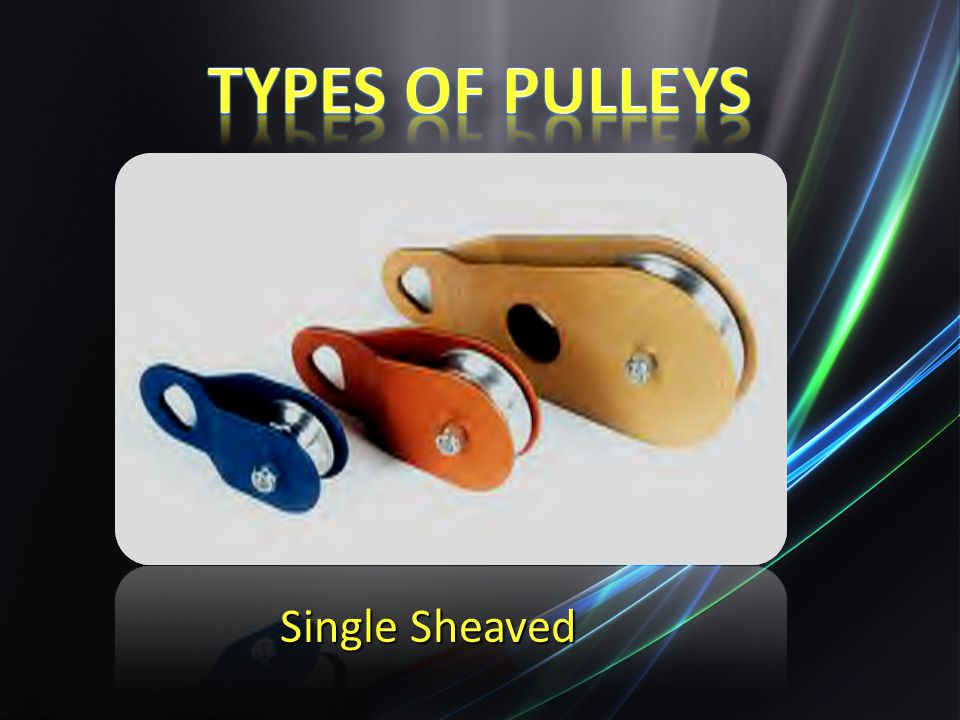 Types of Pulleys Single Sheaved