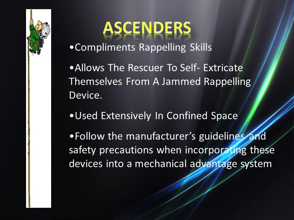 Ascenders Compliments Rappelling Skills