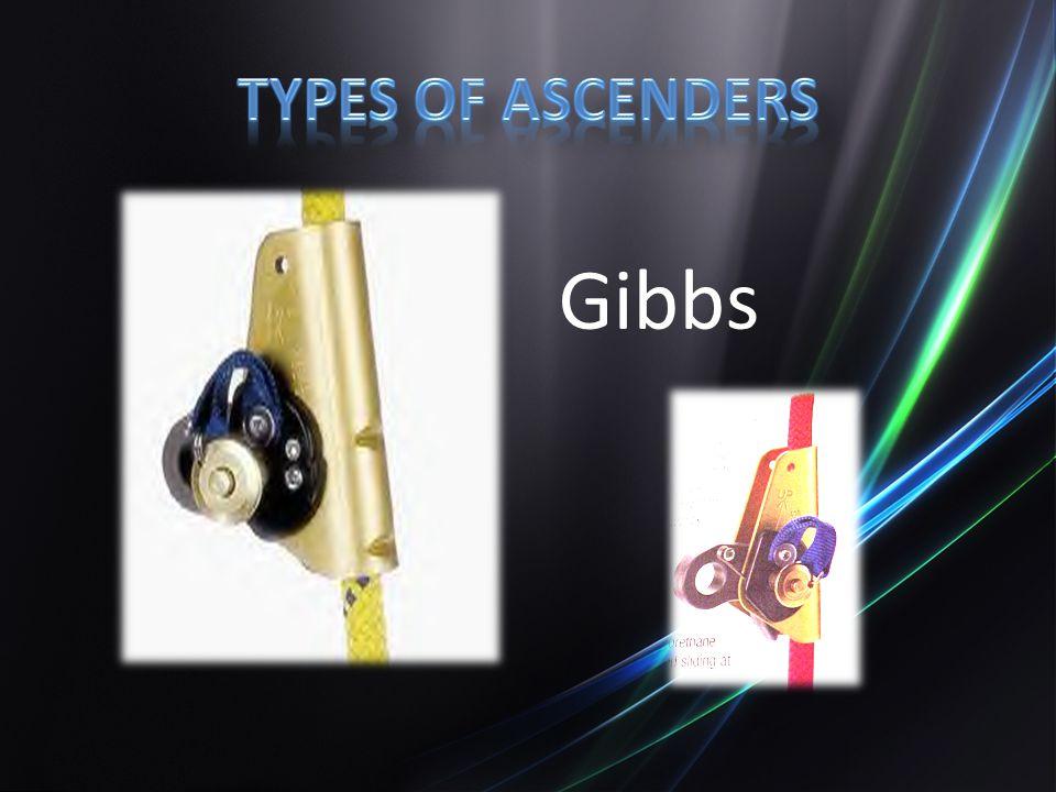 Types of ascenders Gibbs