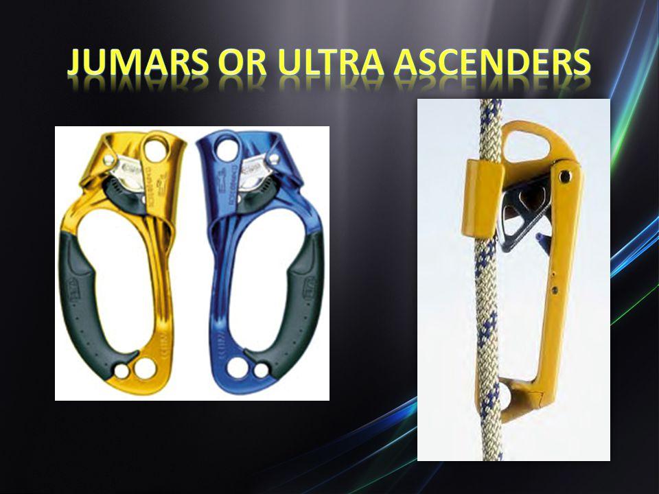 Jumars or Ultra Ascenders