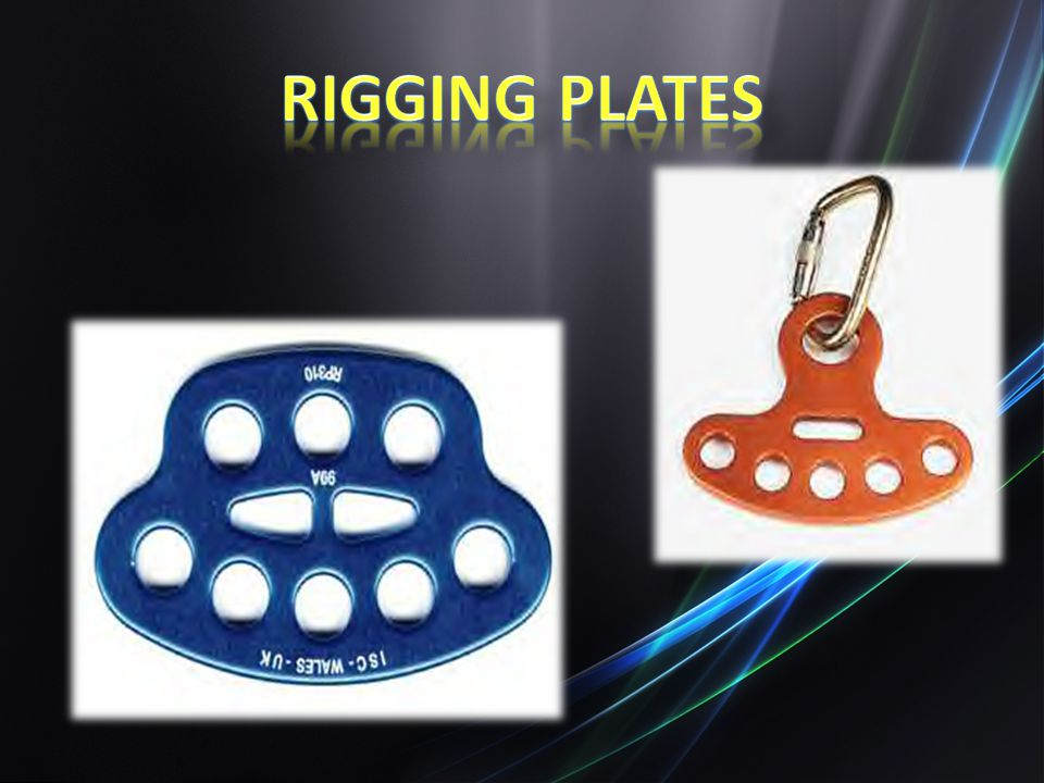 Rigging Plates