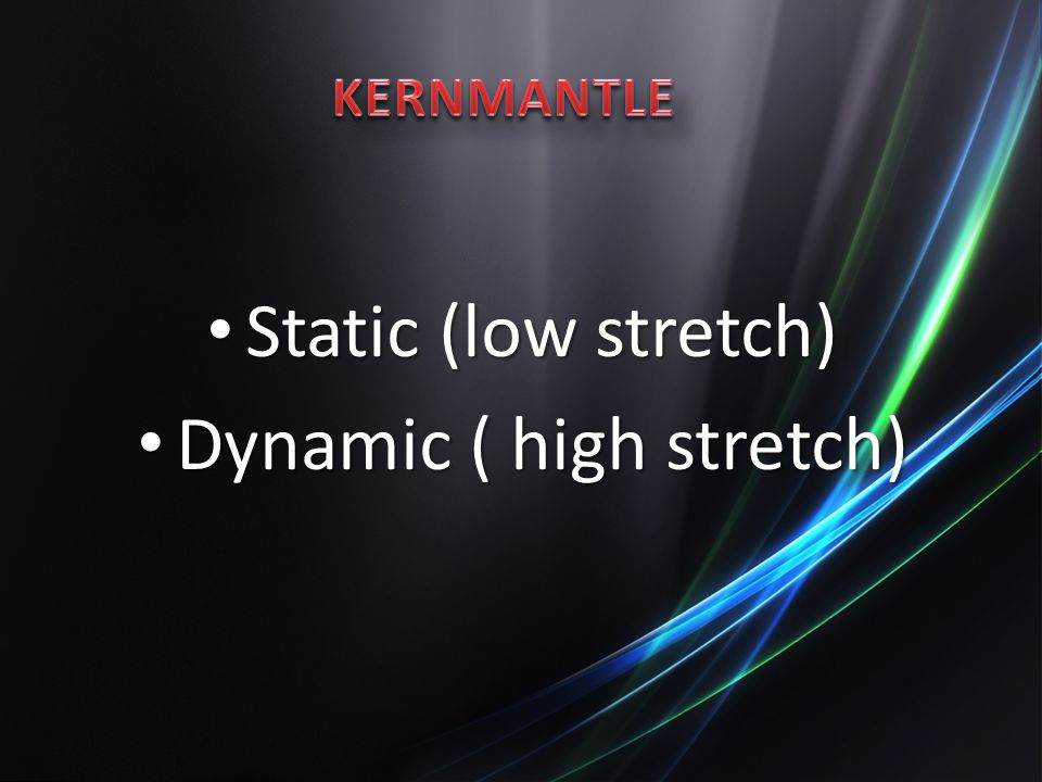 Dynamic ( high stretch)