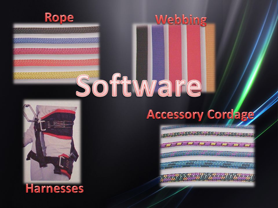 Rope Webbing Software Accessory Cordage Harnesses